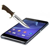 Anti Gores Kaca Tempered Glass Sony Xperia Z1 CLEAR BENING HIGH QUALITY
