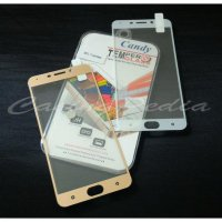 Oppo F1 Plus - Anti Gores Tempered Glass Colored Frame