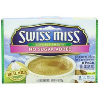 [macyskorea] Swiss Miss No Sugar Added Hot Cocoa Mix, Milk Chocolate, 4.4 Ounce (Pack of 1/5263882