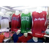[Dijamin] Jersey Baju Basket LA Lakers Chichago Bulls Celtic Los Angeles 1 Stel