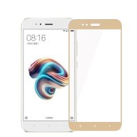 HMC Xiaomi Mi 5X - 5.5 inch Tempered Glass - 2.5D Full Screen - Lis Emas