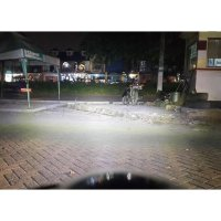 (Recommended) Lampu Sorot LED RTD E03C 20W + USB Charger HP TEMBAK Waterproof motor