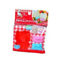 Hello Kitty Bread Mold with Pins