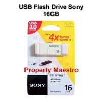 [Sony] Flashdisk 16GB (Bergaransi) | Flash Disk Sony 16GB | Flash Drive Sony 16GB