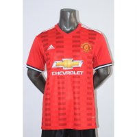 (Recommended) Jersey Baju Bola MU Manchester United Home 17/18 Leaked Grade Ori