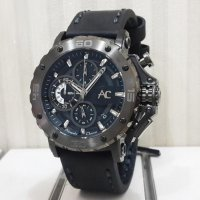 Jam Tangan Alexandre Christie Ac-9205 Full Black Original