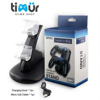 OVIO Dual Charging Dock Stand Stik Stick PS4 Wireless Controller