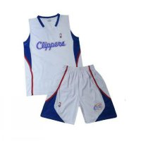 (Diskon) Jersey Baju Basket Clippers Satu Stel Basketball Sleeveless