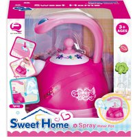 Mainan Masak Masakan Sweet Home Spray Water Pot Playset Light Sounds