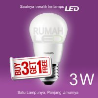 [Philips] Paket LED Philips 3w