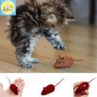 Mainan kucing tikus bunyi mouse kitten toy squek PET4104