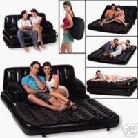 Sofa Angin 5 in 1 hitam SOFA BED Bestway