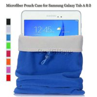 [globalbuy] Dual Layer Microfiber Pouch Case for Samsung Galaxy Tab A 8.0 T350 T351 T355, /3532556