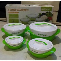 HAPPY CALL FOOD WARMER ISI 8 PC - Thermo container pack