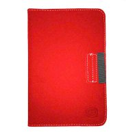 FS Rotary Cover For Samsung Tab 2 7 P3100 P6200 - Merah