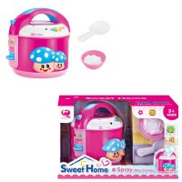 Mainan Masak Masakan Sweet Home Spray Rice Cooker Playset With Light