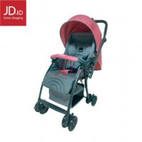 BABYDOES Stroller CH 817i EASYLITE M - Red