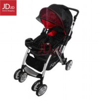 BABYDOES Stroller CH 602 JUSTINE - Red