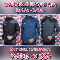 JAKET GUNUNG / OUTDOOR THE NORTH FACE SOFT H -1703 SHELL WATER PROOF