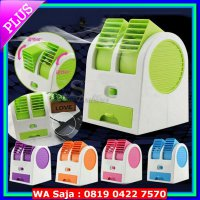 #Kipas Angin Listrik AC Mini Portable Double Fan
