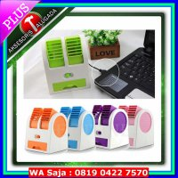 Kipas Angin Kipas Angin Aromaterapi Parfum / AC Mini Portable Double Cooler Fan