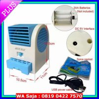 PREMIUM AC MINI USB PORTABLE DOUBLE BLOWER /KIPAS ANGIN/AC MINI FAN