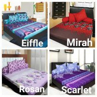 Sprei California King 180x200 Motif Lengkap