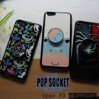 OPPO F3 CASE MOTIF WITH POPSOCKET - ABCOPPF3SOMS