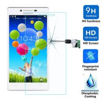 Anti Gores Kaca Tempered Glass Lenovo A6000 Clear Bening High Quality