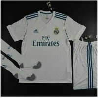 NEW Jersey 1 set Real Madrid Home 2017/2018 grade ori official Murah