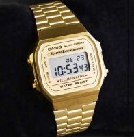Casio Retro A168WG-9WDF Digital