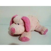 Boneka Anjing Pink Dog Isi Butiran Original TY Very Soft