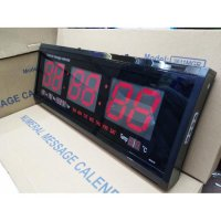 Jam Dinding Digital LED Clock 2410