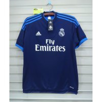 NEW Real Madrid 2015-16 3RD. BNWT. Original Jersey - Navy, XS Murah