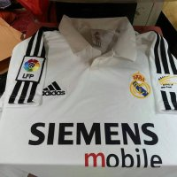 NEW jersey retro real madrid 2003 home Murah
