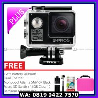 Action Camera BRICA B-PRO 5 Alpha Edition 2 (AE2) 4K Combo Awesome (C) - Hitam