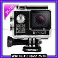 Action Camera BRICA B-PRO 5 Alpha Edition 2 (AE2) 4K WIFI Camera Only - Hitam