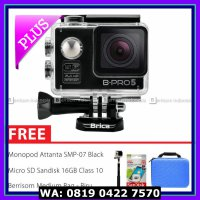 (Action Camera) BRICA B-PRO 5 Alpha Edition Combo Deluxe (B) HD 1080p Wifi - Hitam