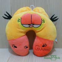 Bantal leher garfield bordir