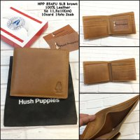 Dompet Hush Puppies 854Fu Slb Brown Replica Dompet Kulit Dompet Pria