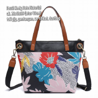 TAS FOSSIL KEELY TOTE PICTORIAL