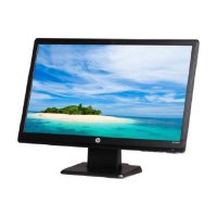 HP LV2011 20-inch LED Backlit LCD Monitor - Black
