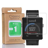 [globalbuy] Qosea For Garmin Vivoactive Tempered 9H Glass Ultra-thin Clear Scratch Resista/3727997