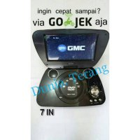 GMC 808 R DVD/CD/VCD/TV PORTABLE GMC 7 IN