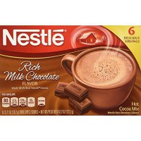 [poledit] Nestle, Rich Milk Chocolate Hot Cocoa Mix, 6 Serving, 6oz Box (Pack of 4) (T1)/12545214