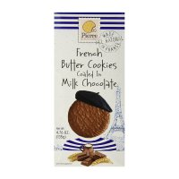 Biskuit Pierre French Butter Cookies Coated in Chocolate Au Lait