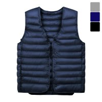 [Moniz] Basic light padding vest PVT041