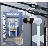 Headset Handsfree High Quality Lenovo Original Earphone Stereo BASS