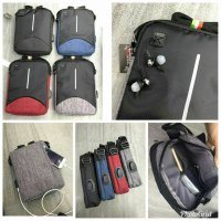 Sling Bag USB GAOLEMA BAG Tas Selempang USB Tas Powerbank Slingbag USB