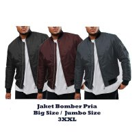 JACKET BOMBER BIG SIZE JUMBO 2XL fit to 3XL / JAKET PRIA / JAKET JUMBO